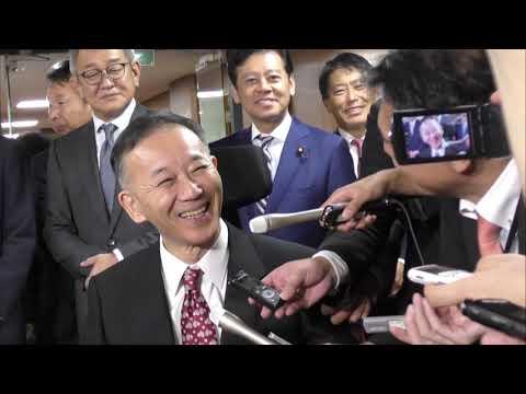 谷垣禎一前総裁(2018.11.6)