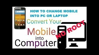 how to run windows on android without pc