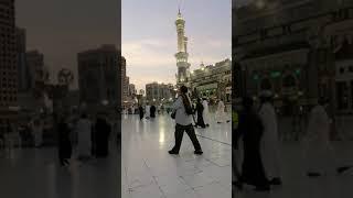 آذآن المغرب للمؤذن هاشم السقاف من ساحات المسجد الحرام الخميس  ٩/ ٥ /١٤٤٢