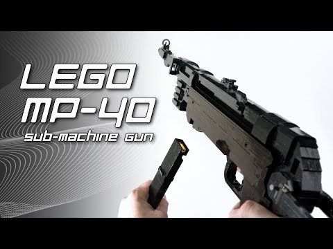LEGO MP-40 Sub-Machine Gun
