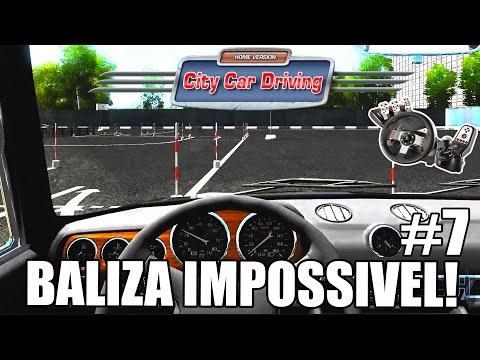 Simulador de Auto Escola - BALIZA IMPOSSÍVEL! #7 (G27 mod)