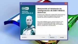 descargar e instalar ESET NOD32 Antivirus 8 Full + Activador Permanente   32 y 64 Bits