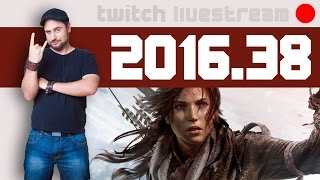 Let's Play Livestream 2016 #38 - Divinity II, Gemini, Rise of The Tomb Raider