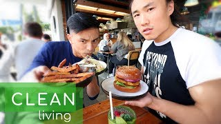 We got to meet and hang out with tian tan whose all about clean healthy living so went around auckland eating delicious food together. yes...