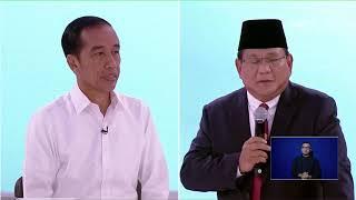 DebatCapres #GoodElectionNET #DebatJokowiPrabowo Minggu (17/02/2019...