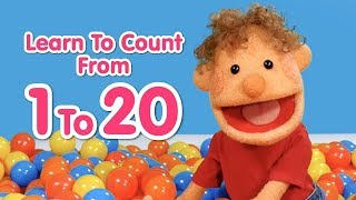 Super Duper Ball Pit - Count to 20