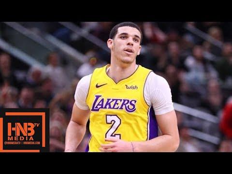 Los Angeles Lakers vs San Antonio Spurs Full Game Highlights / March 3 / 2017-18 NBA Season