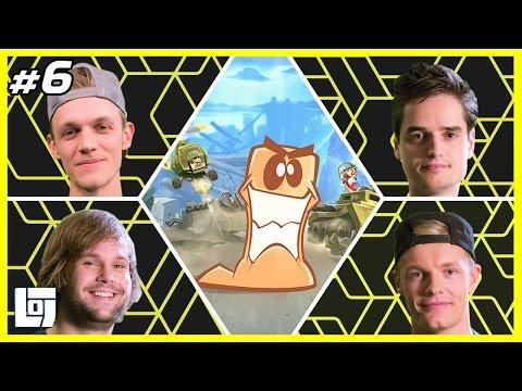 Worms W.M.D. met Don, Milan, Enzo en Sam | XL Battle | LOGNL #6