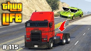 GTA 5 ONLINE : THUG LIFE AND FUNNY MOMENTS (WINS, STUNTS AND FAILS #115)