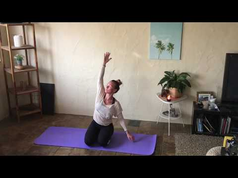 40 minute Gentle Yoga for Beginners & Seniors Sequence