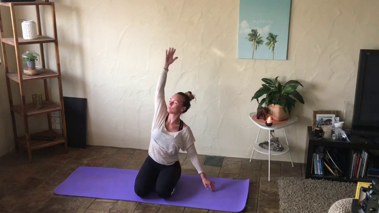 40 Minute Gentle Yoga For Beginners Seniors Sequence