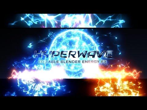 EPIC ENERGY VFX FOR BLENDER 3D: Hyperwave + TUTORIAL