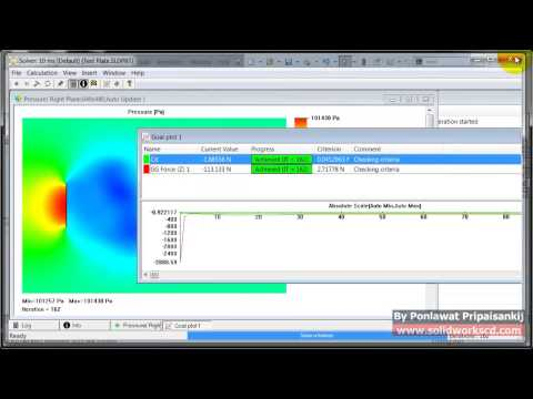 Find Wind Force from Flow Simualtion and export load