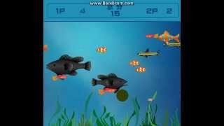 Приколы из мини-игр:игра рыбки на двоих,глюк ребёнок.