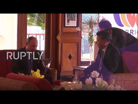 India: Putin, Xi Jinping discuss Syria and Korean nuclear issue on BRICS sideline