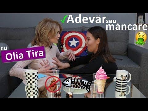"""""""Adevăr sau mâncare"""" cu Olia Tira"""