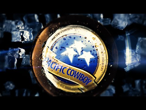 Pacific Cowboy Beer Advertisement