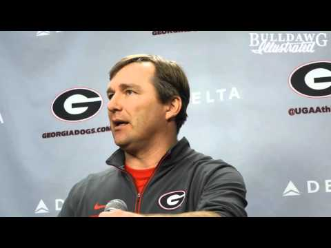 Coach Smart Reviews the Young Offensive Line after 4 Practices