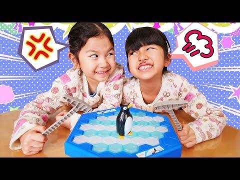 二人動画♡【ペンギンぽこぽこゲーム※勝手に命名】で大盛り上がりwhimawari-CH