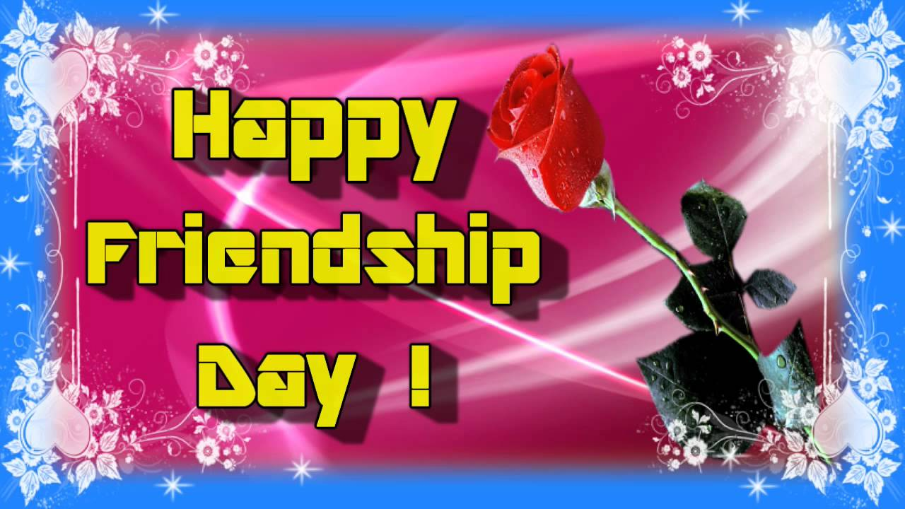 Happy Friendship Day Greeting Cards Friendship Day Video