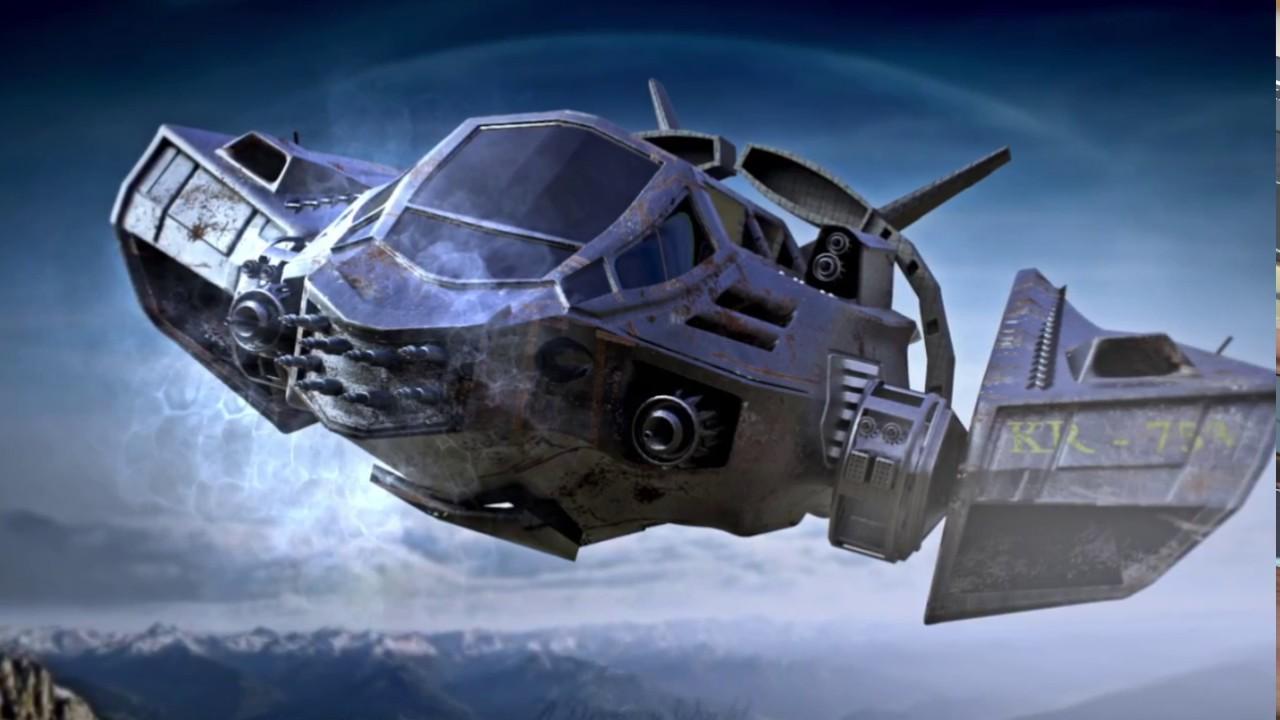 Speed Modeling Sci-Fi Spaceship - YouTube