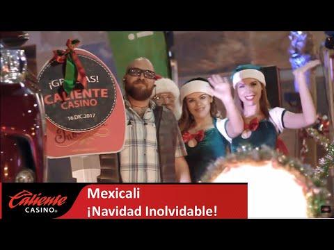 Esta Navidad es Inolvidable en Caliente Casino Mexicali