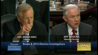 Attorney General Jeff Sessions pressed again on