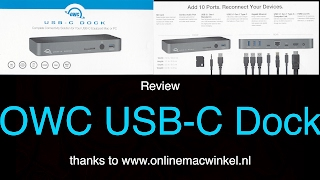 end to the dongle circus the owc usb c dock review qf ep93
