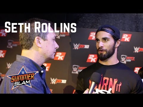 Seth Rollins on Being on Cover of WWE 2K18, Reuniting with Dean Ambrose