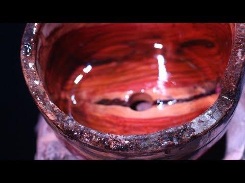 Fabricando meus Vasos para Bonsai (Madeira e Resina) vídeo