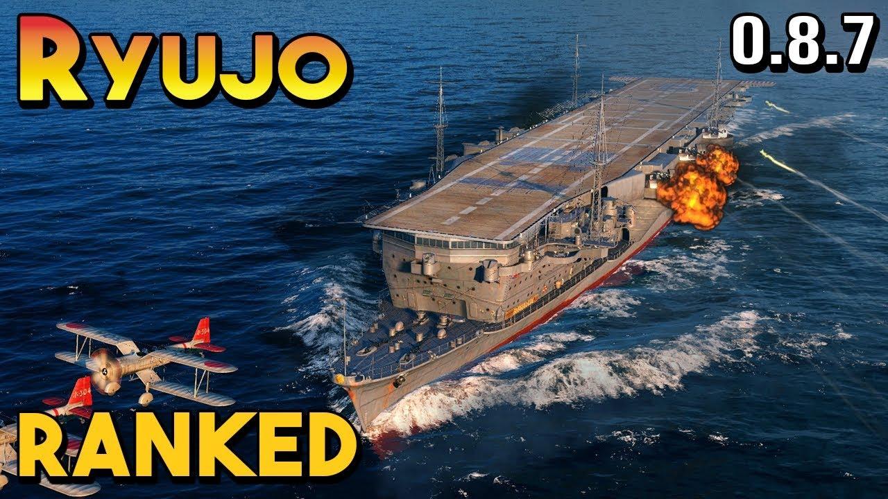 Ryujo: Invincible - World of Warships - YouTube