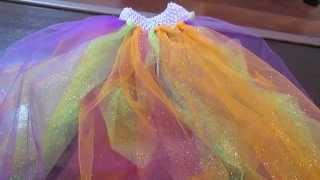 Diy: Halloween Sparkle Tutu No Sew   Craft Collaboration!!