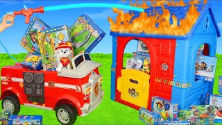 Paw Patrol Toys: Fire Truck Ride On, Toy Vehicles, Fireman & Playhouse Surprise Toy for Kids