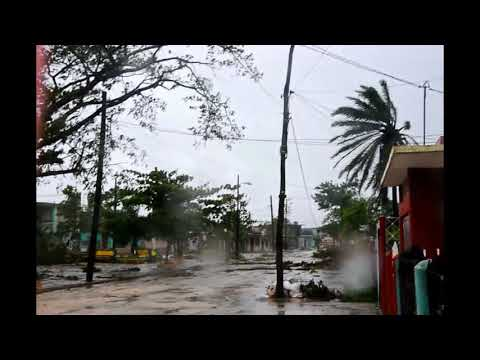 Sábado 9 de septiembre, Ciego de Ávila tras el paso de Irma