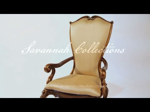 Italian Furniture Chair by Savannah Collections Christopher Guy