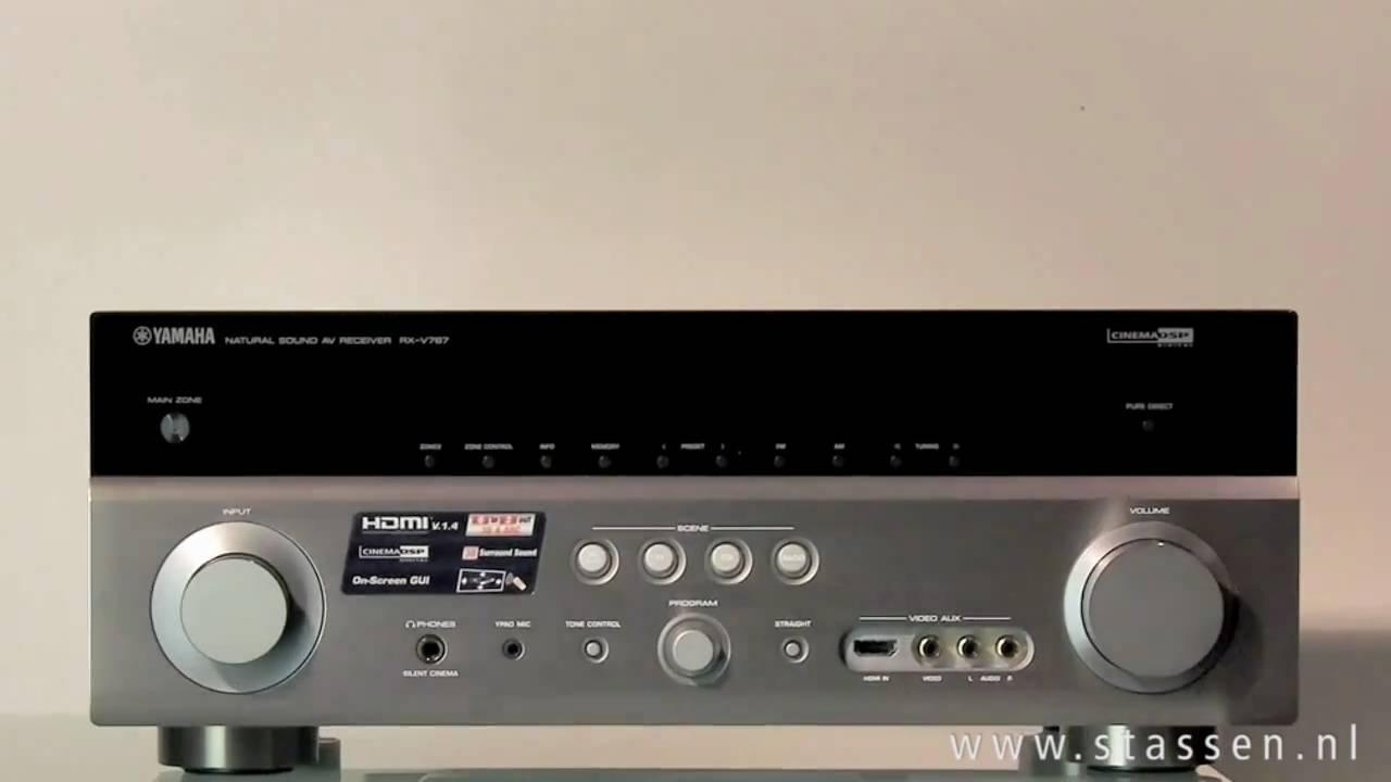 Yamaha rx v767 youtube for Yamaha rx v767