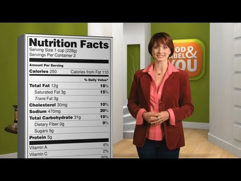The Food Label and You: Servings (Historical PSA)