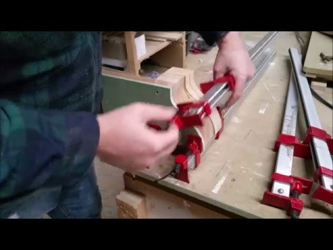 Making A Pair Of Laminated Corbels From Oak - JD Woodwork