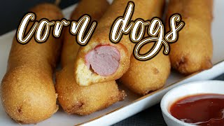 How to Make Corn Dogs