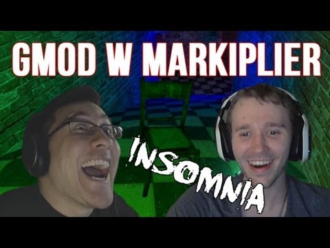 Gmod Horror Maps W/ Markiplier! - Insomnia [1]