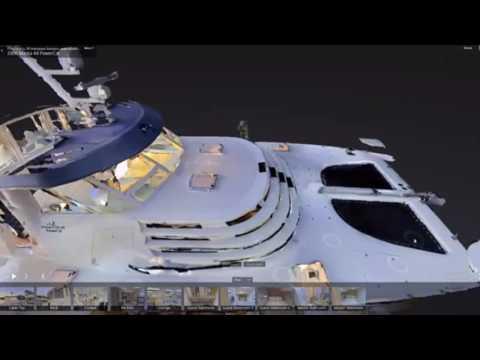 Yacht Boat Marine Marketing using Matterport 3D Virtual Tours Florida