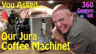 Jura ENA Micro 90 Coffee Machine - 360 Degree 4K Video