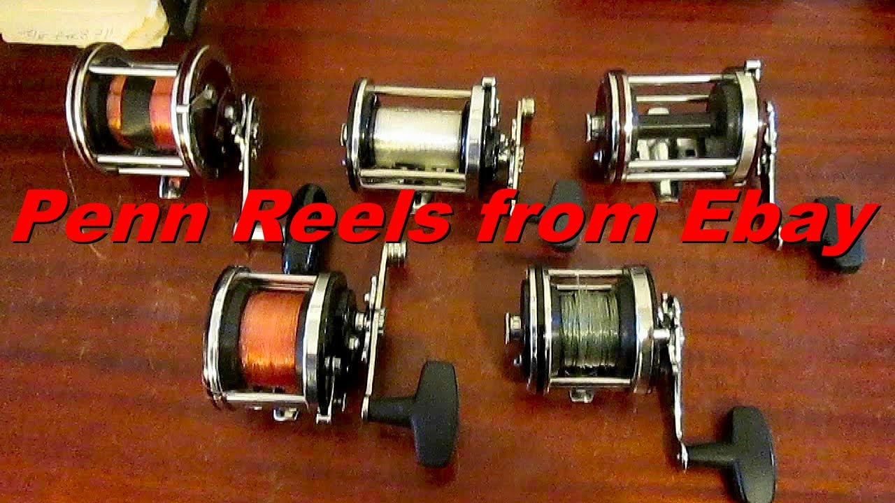 Penn conventional fishing reels from ebay youtube for Vintage fishing reels for sale