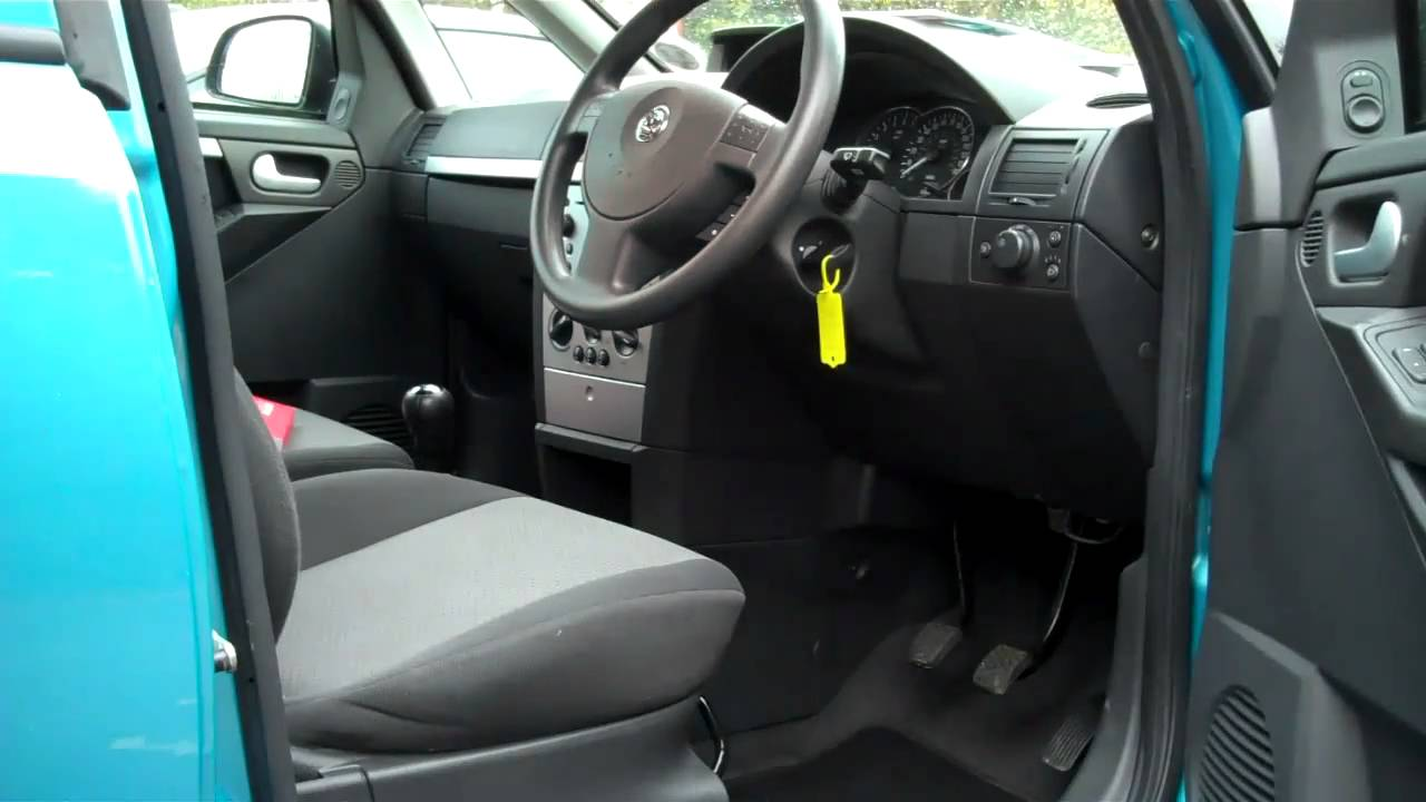 04 04 vauxhall meriva 1 6 enjoy mpv for sale youtube. Black Bedroom Furniture Sets. Home Design Ideas