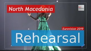 Tamara Todevska - Proud - Eurovision 2019 North Macedonia (Rehearsal)