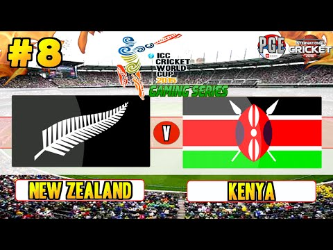 ICC Cricket World Cup 2015 (Gaming Series) - Pool A Match 8 New Zealand v Kenya