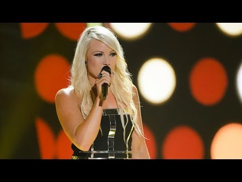 Hayley Jensen Sings Freefallin  The Voice Australia 2014
