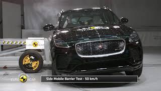 Euro NCAP Crash Test of Jaguar E-Pace