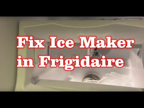 frigidaire refrigerator replacement ice maker