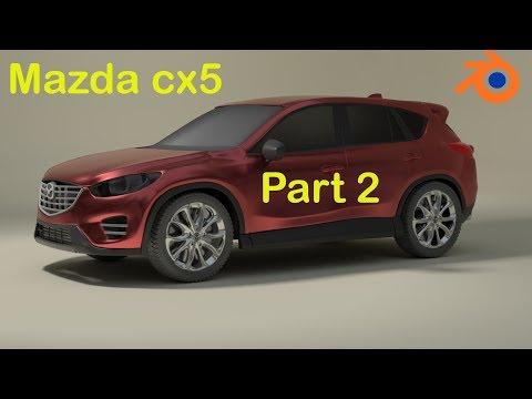 #2 MAZDA CX 5 MODELING IN BLENDER